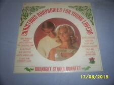 The Midnight String Quartet - Christmas Rhapsodies For Young Lovers - VG LP