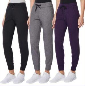 32 Degrees Heat Tech Fleece Jogger Pant, Various Colors/Sizes, NWT