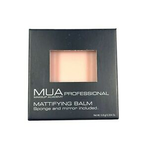 New Mattifying Balm w/ Sponge and Mirror - MUA Makeup Academy Professional  5.8g