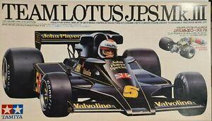Tamiya 1/20 Team Lotus 78 J.P.S. Mk III Model Kit