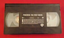 Pokemon: The First Movie VHS Rated G