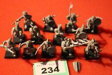 Juegos taller Warhammer Bretonnian Imperio hombres en armas parte Metal Regimiento GW