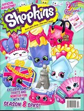 Shopkins The Official Activity Magazine (2017) Games Crafts Nonstop Fun Posters