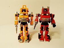 Vintage G1 Transformers (1985): Autobots Grapple & Inferno