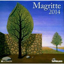 Magritte 2014 Wall Calendar - New & Sealed. Out of Print