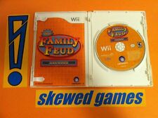 Family Feud Decades - Wii Nintendo COMPLETE
