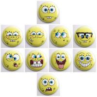 "SPONGEBOB SQUAREPANTS - kids party pinback buttons - 10 total 1"" pins badges"