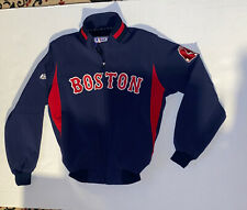 Boston Red Sox Majestic Authentic Collection Jacket Therma Base Embroidered Logo