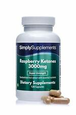 Chetoni di lampone 3000 mg - 120 Capsule - Simply Supplements