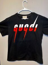 Gucci Oversize T-shirt with Gucci Blade print Size Small
