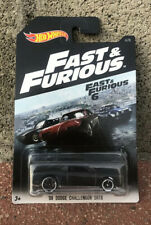 Collectible Hot Wheels Fast And Furious '08 Dodge Challenger SRT8