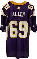 Reebok On Field Minnesota Vikings Allen #69 Practice Jersey NFL Football Large