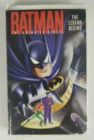 BATMAN VHS The Animated Series The Legend Begins Clamshell (1995 Warner Bros)
