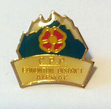 C.P.P. EDMONTON DISTRICT, A.I.P.M.A.C. ALBERTA, CANADA PIN