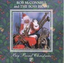Rob McConnell & the Boss Brass Big Band Christmas by (CD, Nov-1998, Concord Jazz