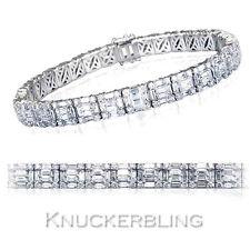 """White Gold 7.5 - 7.99"""" 18Carat Fine Diamond Bracelets"""