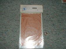 Tauro Model decals Art 443 1/48 Red Insignia Squares Medium Bb