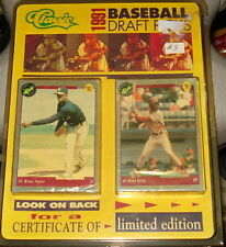 Classic 1991 Baseball Draft Picks set