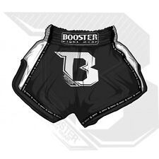 Booster Shorts TBT Pro Black. Bestes Satin, XXS - XXL. Muay Thai, Kickboxen, MMA