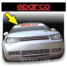 Adesivi FASCIA PARASOLE per auto tuning Mod.SPARCO