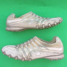 SKECHERS women's fashion leather casual walking shoe size --9.5