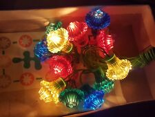 Soviet Electric Lights Sparkling Garland Flashlight Christmas New Year Own Box