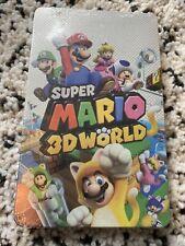 Super Mario 3D World - Nintendo Switch - Steelbook Case Only - Brand New Sealed