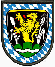 Wappen von Großkarolinenfeld ,Pin, Aufbügler