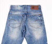 G-Star 3301 Dritto Uomo Jeans Taglia 30/32