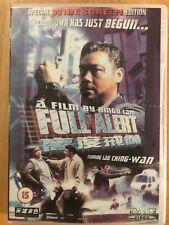 DVD 📀 Full Alert 1997 Ringo Lam Hong Kong Action Film Movie Ching-Wan Martial