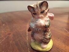"Royal Albert Beatrix Potter Collectible Figure ~ ""Mrs. Moppet"""