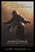 20th Anniv. SHAWSHANK REDEMPTION *LE* Mosaic PRINT - #26/250 + FREE POSTER!