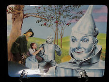 Bradford Exchange Wizard of Oz Mural Plate On the Road to Oz Tin Man with COA