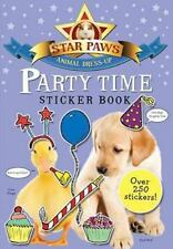 Party Time Sticker Book (Star Paws Animal Dress-Up)  VeryGood
