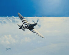 Supermarine Spitfire PR.XI Photo-Recce Aircraft Aviation Painting Art Print