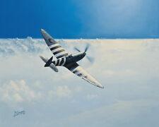Supermarine Spitfire PR.XI Photo-Recce Aircraft Aviation Painting Art Print