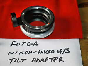 Fotga Tilt Adapter for Nikon AI Lenses on Micro 4/3 Cameras - Used Once, VGC