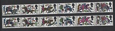 1966 Battle of Hastings. Strip x 6 grey omitted error. Superb unmounted mint.