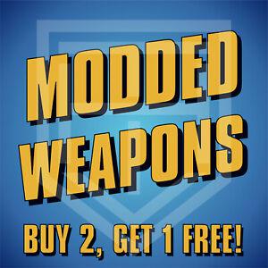 Borderlands 3 [MODDED WEAPONS] Guns [Buy 2 Get 1 Free!] BL3 Guns [All Platforms]