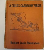A Child's Garden of Verses Robert Louis Stevenson ILLUSTRATED 1929 1932