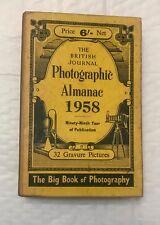 1958  The British Journal Photographic Almanac, Hardback Book