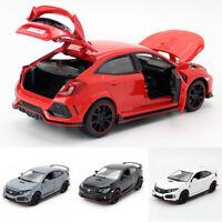 Honda Civic Type R 1:32 Model Car Diecast Gift Toy Vehicle Kids Sound Light