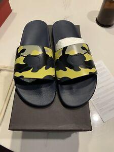 New Authentic Valentino Garavani Men Camo Camouflage Sandals Slide 42 9 $390