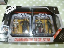 Star Wars x3 Commemorative Tin Collection Exclusive Edition 2007 HASBRO