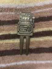Vintage Primm Valley Brass Golf Ball Marker
