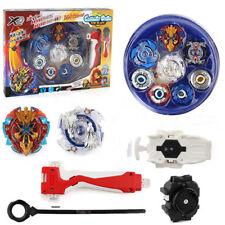 Beyblade Burst Evolution Kit Set Arena Stadium Toy Gift Kids Play Battle Blue S