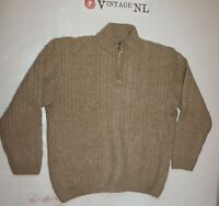ATLAS FOR MEN ZOPF STRICK HERREN ARAN  PULLOVER  Gr 52 (Etikett XXL)