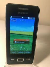 Samsung Tocco Icon Star II GT-S5260 Black (Unlocked) Smartphone Mobile