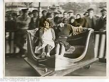 FOIRE DU TRONE PARIS PHOTOGRAPHIE 1934 ARGENTIQUE ORIGINALE VINTAGE PHOTOGRAPH