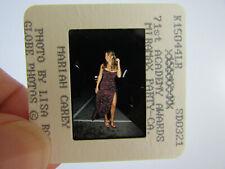 More details for original press photo slide negative - mariah carey - 1999 - l